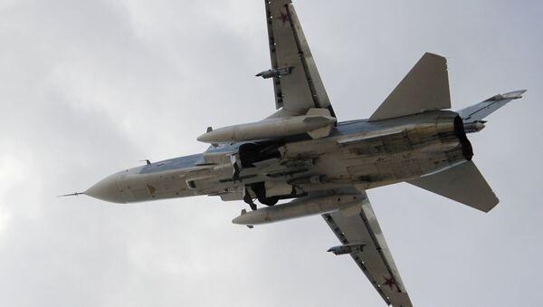 Руски бомбардер Су-24 - Sputnik Србија