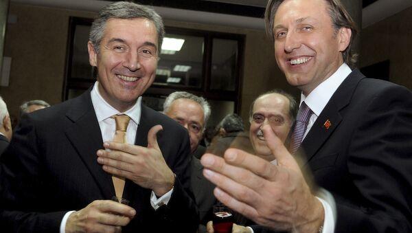 Milo Đukanović i Ranko Krivokapić - Sputnik Srbija