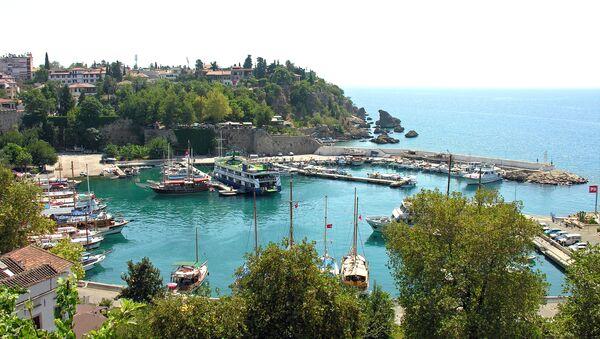 Antalija, marina u Kaleičiju, starom delu grada - Sputnik Srbija