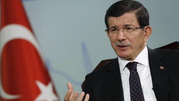 Турски премијер Ахмет Давутоглу - Sputnik Србија