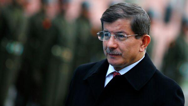 Turski premijer Ahmet Davutoglu - Sputnik Srbija