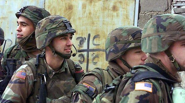 Američki vojnici u sastavu Kfora na Kosovu i Metohiji - Sputnik Srbija