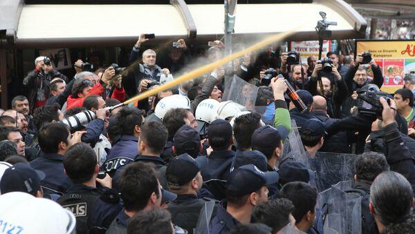 Протест, Турска - Sputnik Србија