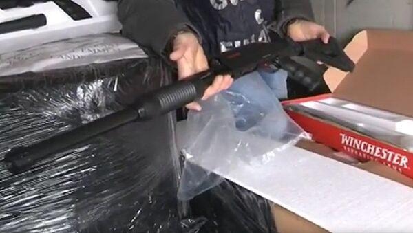 Оружје заплењено у Италији - Sputnik Србија