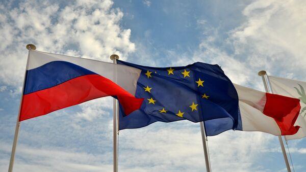 Заставе Русије, ЕУ и Француске на шеталишту у Ници, Француска - Sputnik Србија