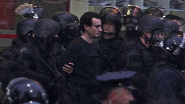 Хапшење лидер опозиционог покрета Самоопредељење Аљбина Куртија у Приштини - Sputnik Србија