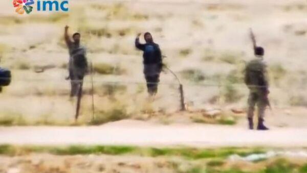 Турски граничари ћаскају са терористима Исламске државе. - Sputnik Србија