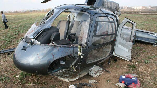 Pad helikoptera AS-350 - Sputnik Srbija