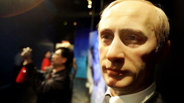 Воштана фигура Владимира Путина - Sputnik Србија