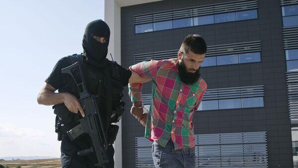 Jedan od pripadnika Islamske države na Kosovu - Sputnik Srbija