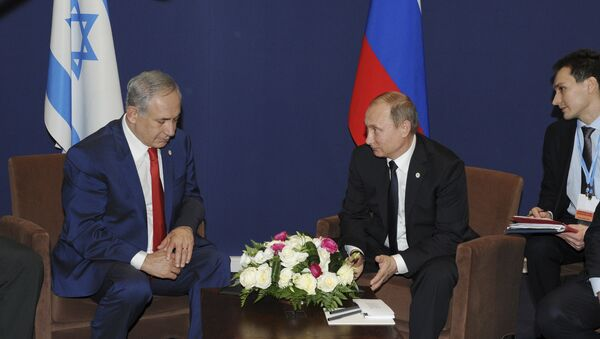 Premijer Izraela Benjamin Netanjahu i predsednik Rusije Vladimir Putin - Sputnik Srbija