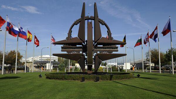 NATO simbol u Briselu - Sputnik Srbija