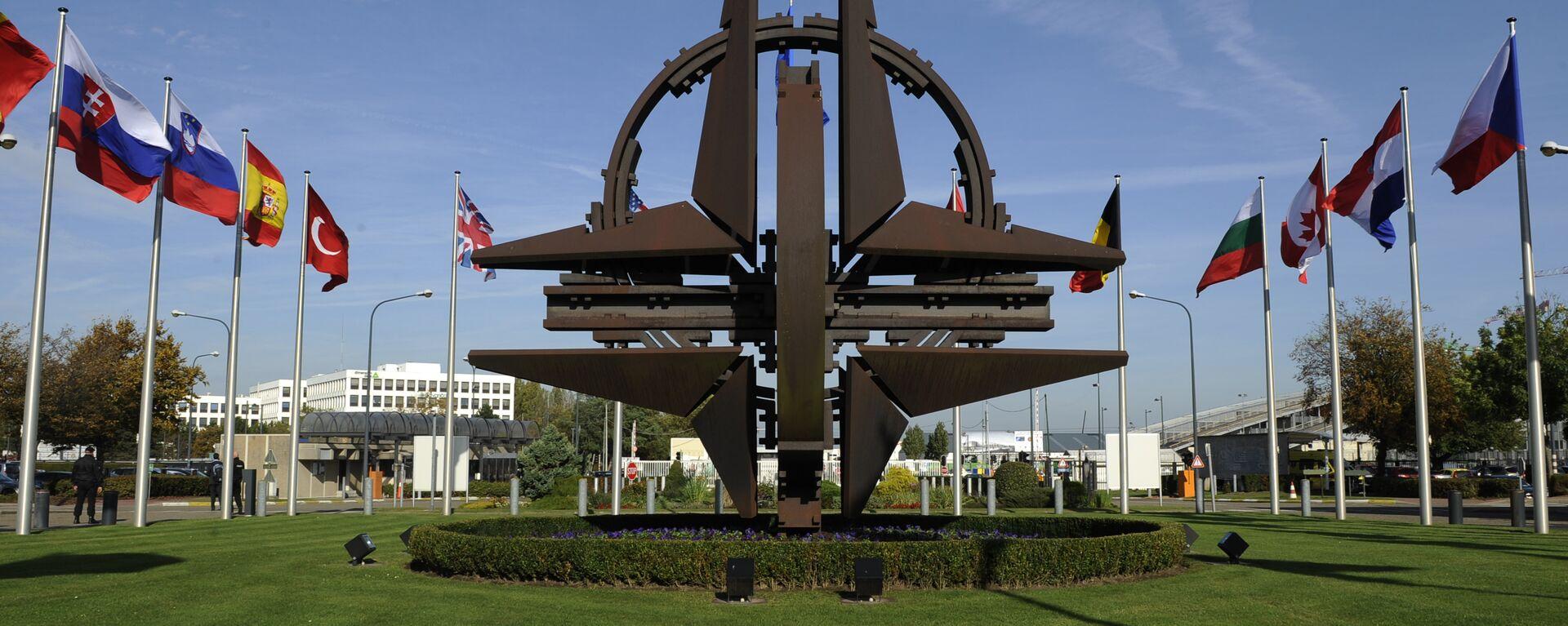 НАТО симбол у Бриселу - Sputnik Србија, 1920, 13.06.2021