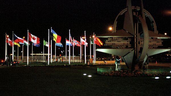 NATO zastave u Briselu - Sputnik Srbija