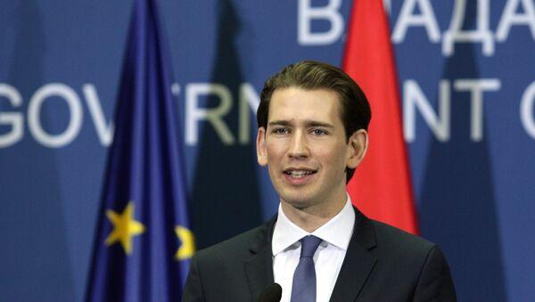Министар иностраних послова Аустрије Себастијан Курц - Sputnik Србија