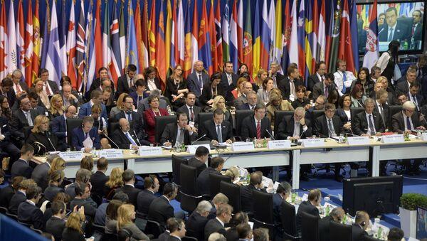 Otvaranje plenarne sednice na Ministarske konferencije OEBS-a u Beogradskoj areni - Sputnik Srbija