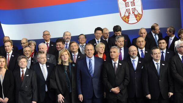 Отварање пленарне седнице на Министарске конференције ОЕБС-а у Београдској арени - Sputnik Србија