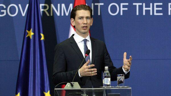 Ministar inostranih poslova Austrije Sebastijan Kurc - Sputnik Srbija