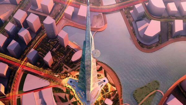Пројекат небодера Краљевски торањ у Џеди, у Саудијској Арабији - Sputnik Србија