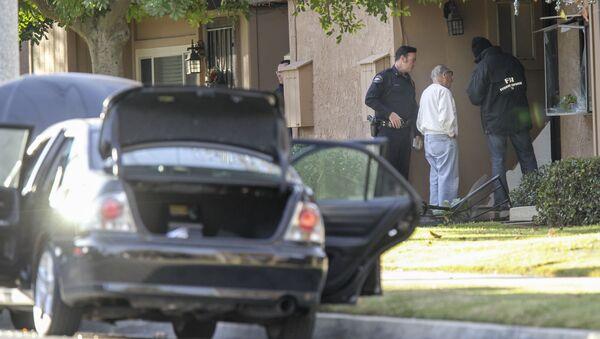 Место злочина у Сан Бернардину у Калифорнији. - Sputnik Србија