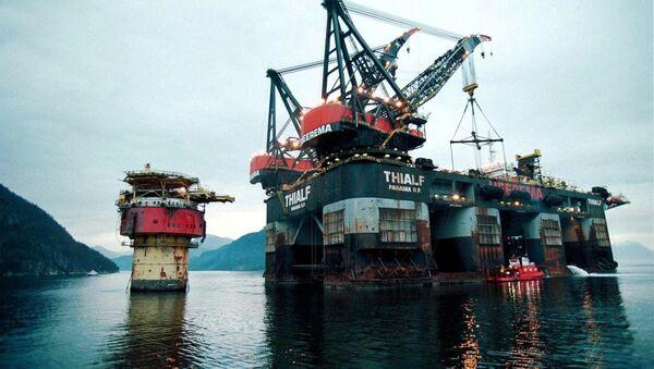 Naftna platforma - Sputnik Srbija