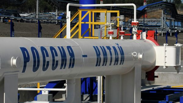 Нафтне цеви на руско кинеској граници - Sputnik Србија