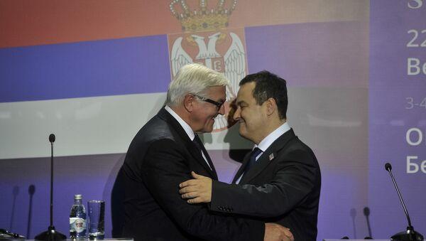 Frank Valter Štajnmajer i Ivica Dačić - Sputnik Srbija