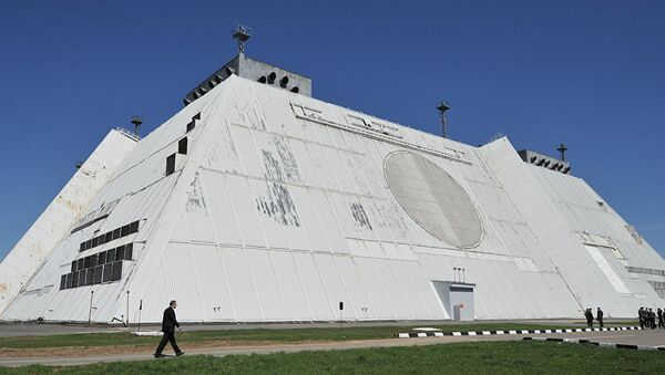 Radarski raketni odbrambeni sistem u Moskvi - Sputnik Srbija