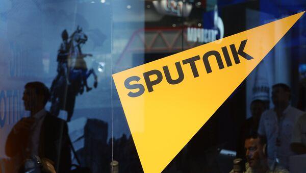 Штанд Спутњика на економском форуму у Санкт Петербургу - Sputnik Србија