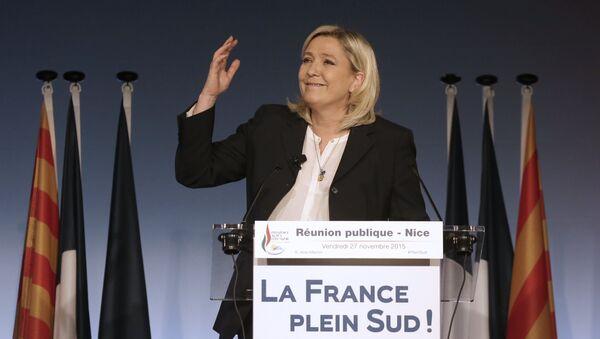 Marin le Pen, predsednica Nacionalnog fronta - Sputnik Srbija