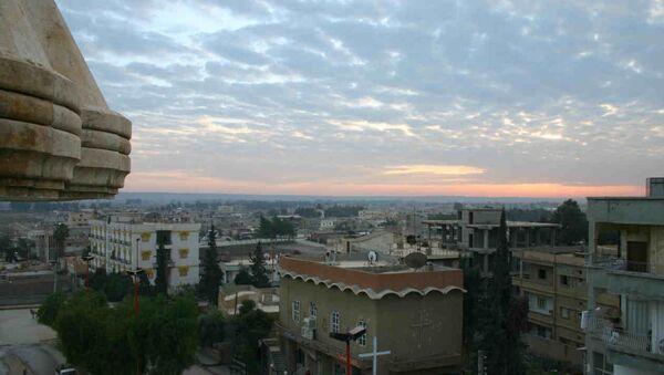 Centar grada Rake, u Siriji - Sputnik Srbija