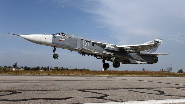 Руски ратни авиони у Сирији - Sputnik Србија