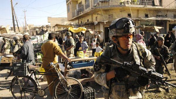 Амерички специјалци у граду  Бакуба,  Ирак - Sputnik Србија