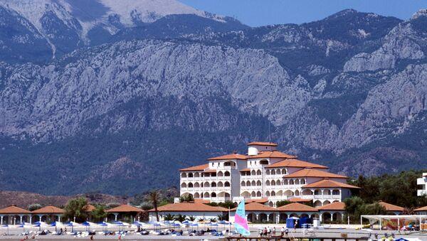 Hotelski kompleks u Antaliji - Sputnik Srbija