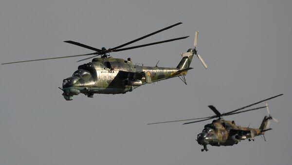 Helikopteri Mi-35 - Sputnik Srbija