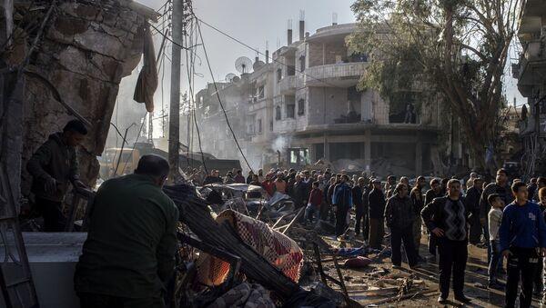 Терористички напад у Хомсу - Sputnik Србија