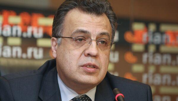 Amabasdor Rusije u Turskoj Andrej Karlov - Sputnik Srbija
