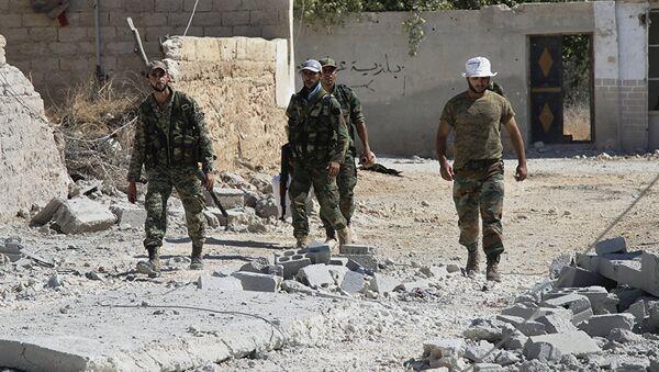 Sirijska vojska - Sputnik Srbija