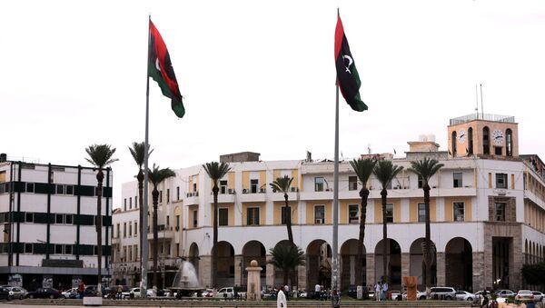 Главни трг у Триполију Мартирс сквер, некад познат и као Зелени трг, Либија - Sputnik Србија