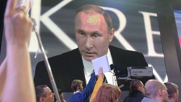 Прес-конференција Владимира Путина - Sputnik Србија