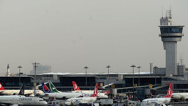 Aerodrom Ataturk u Istanbulu, Turska - Sputnik Srbija