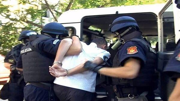 Црногорска полиција - хапшење - илустрација - Sputnik Србија