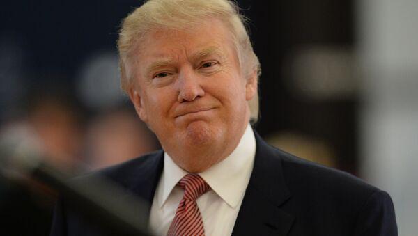 Kandidat za predsednika SAD Donald Tramp - Sputnik Srbija