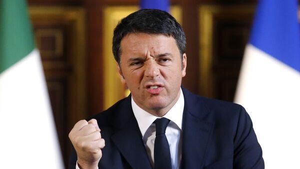 Италијански премијер Матео Ренци - Sputnik Србија