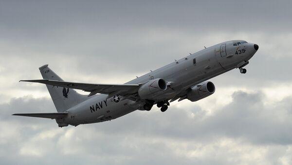 Амерички војни авион Боинг П-8 Посејдон - Sputnik Србија
