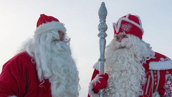 Ruski i finski deda Mraz - Sputnik Srbija
