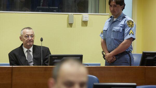 Franko Simatović Frenki u sudnici Haškog tribunala - Sputnik Srbija