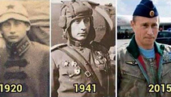 Putin, through the years... - Sputnik Србија
