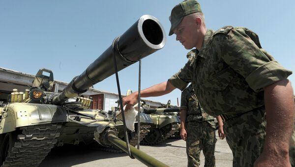 Ruska vojska u bazi u Tadžikistanu - Sputnik Srbija