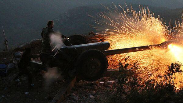 Sirijska vojska u Latakiji - Sputnik Srbija